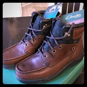 NWT Men's Clarks ULTIMATE Brown Boots Size 7